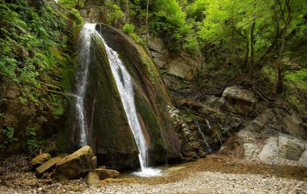 Varvara waterfalls