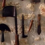 Old tools at the Folklore Museum of Afitos