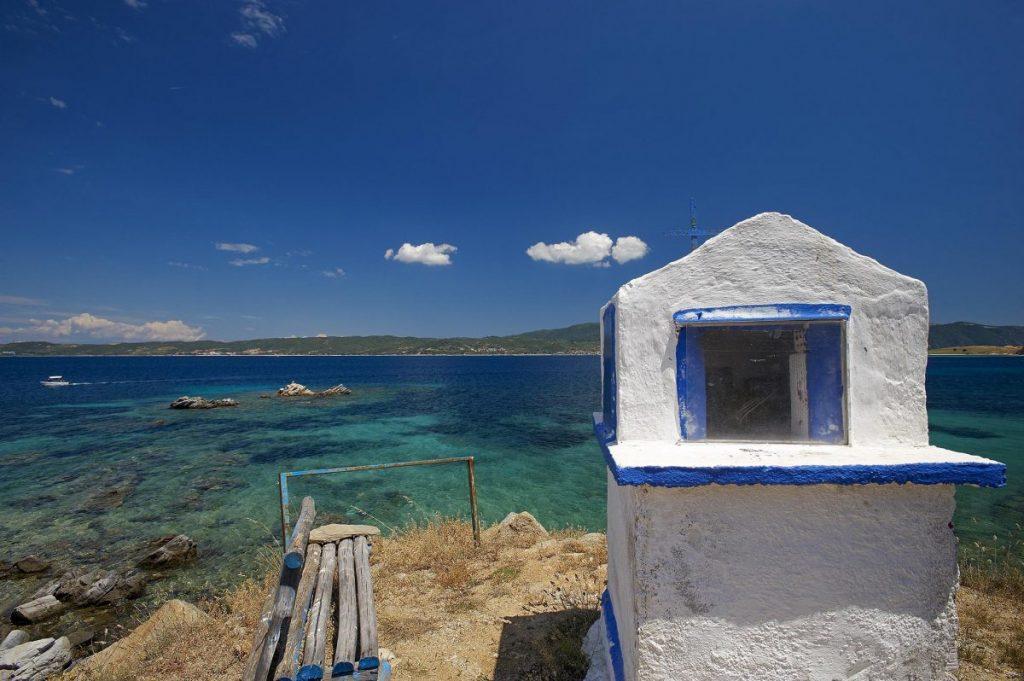 Little chapple at Ammouliani island