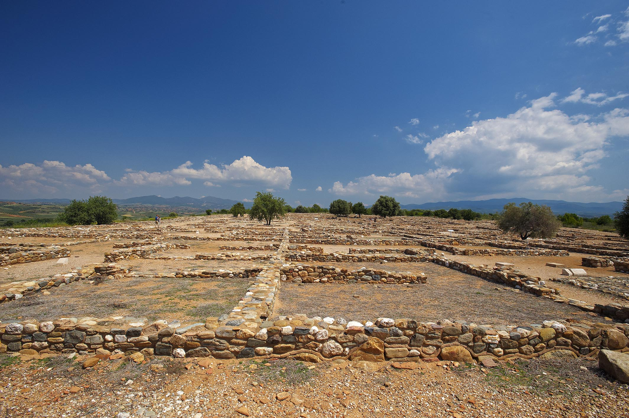 Archaeological site of Ancient Olynthos