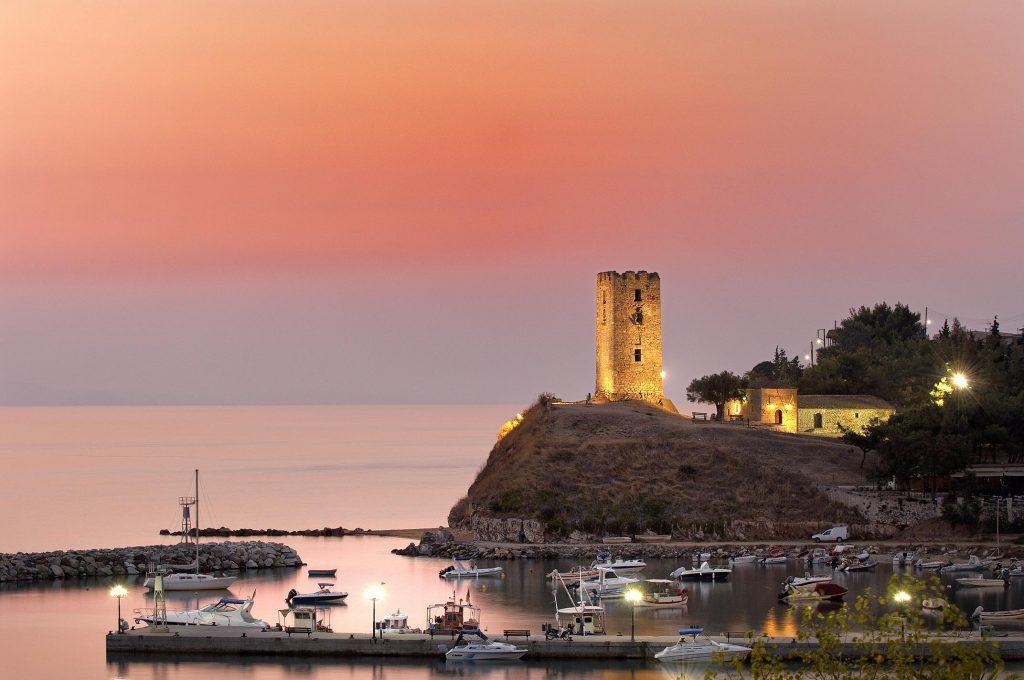 Byzantine Tower in Nea Fokea (St. Paul)