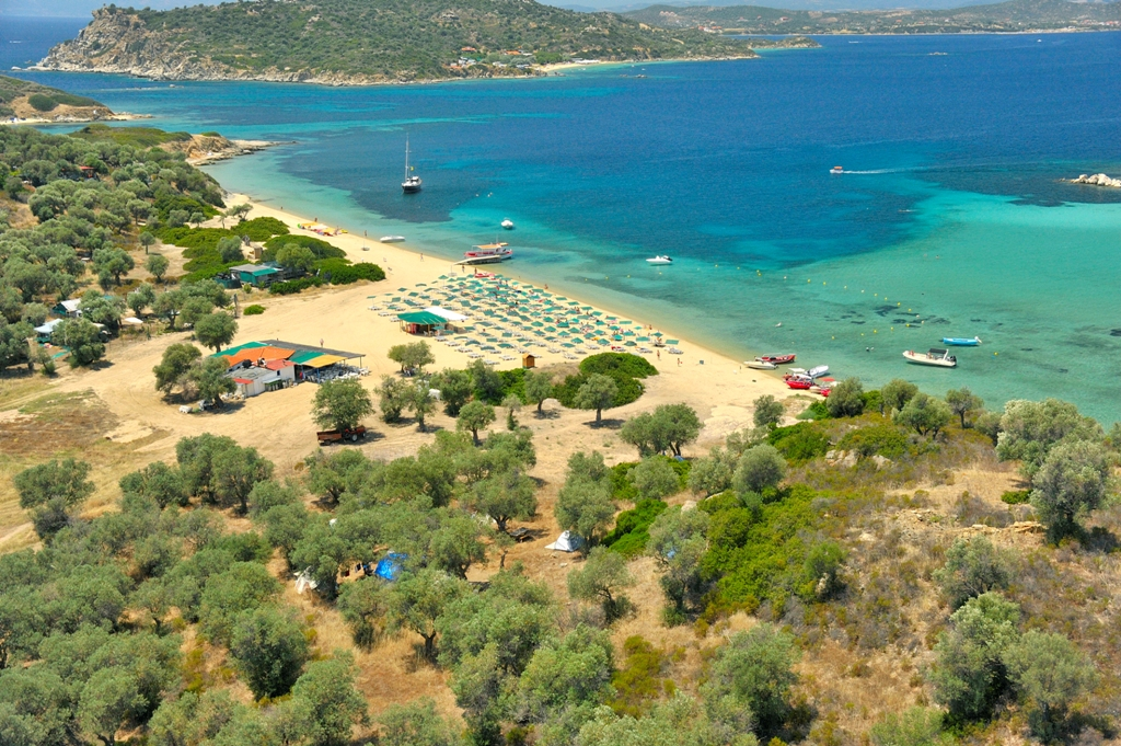 Karagatsia beach at Ammouliani
