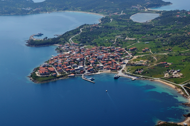 Port of Ammouliani island