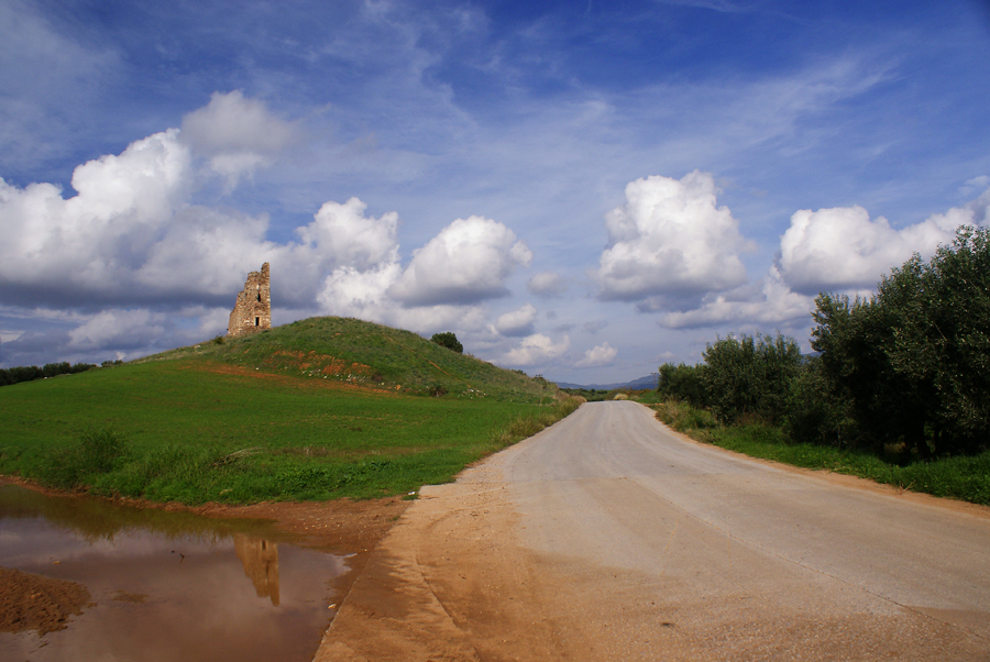 View of Marianna's Tower from the road