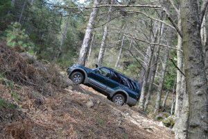 Jeep climbing Mt. Itamos