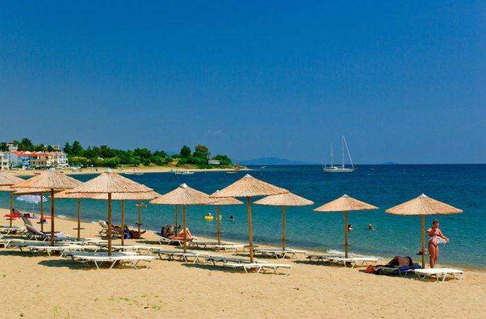 Gerakini beach