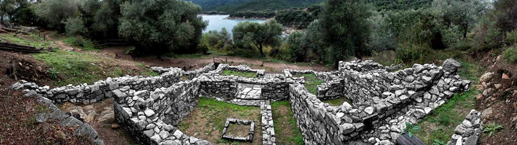 Ancient Stagira, the birthplace of the philosopher Aristotle