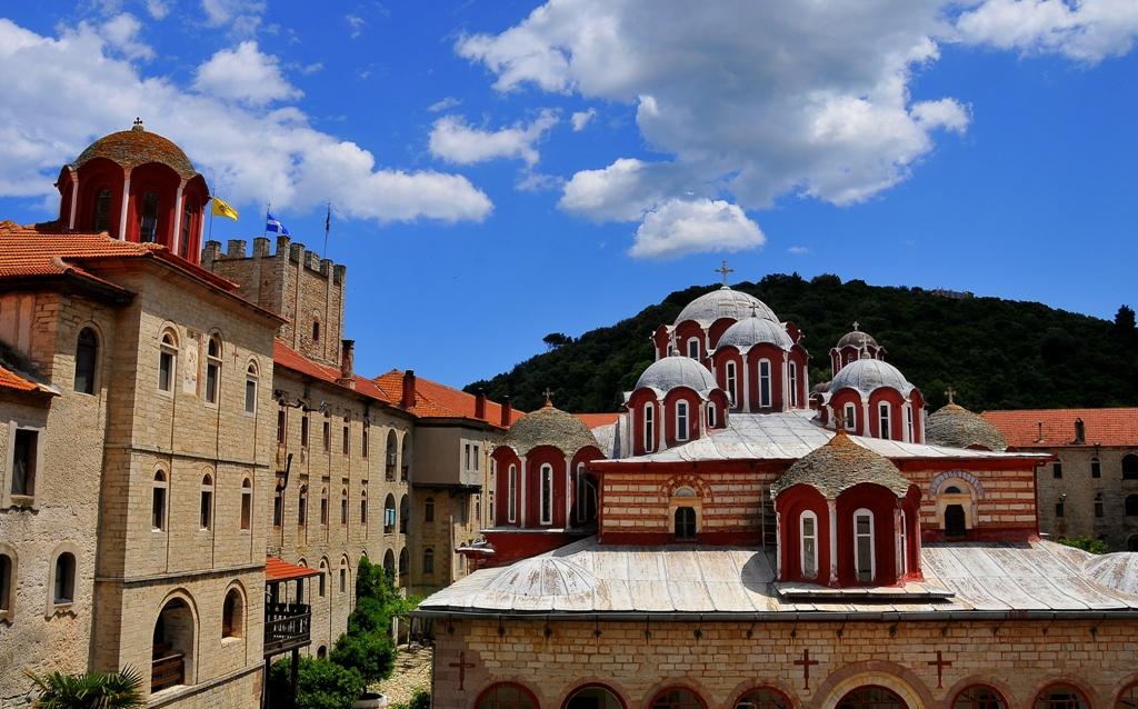 The Holy Monastery of Esfigmenos