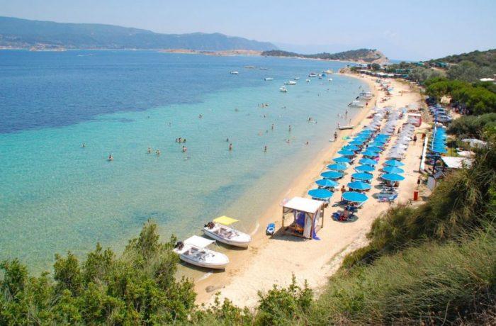 Megali Ammos beach (Ammouliani)