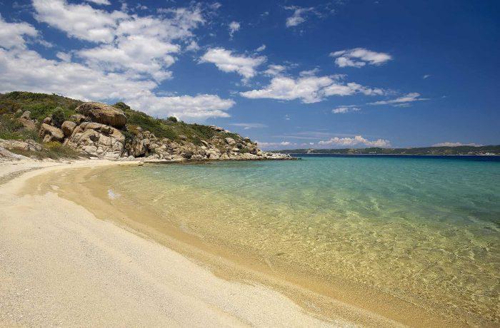 Agios Georgios (St. George) beach