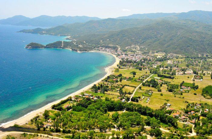 Olympiada beach