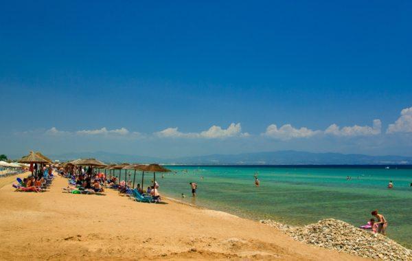 Nea Potidea beach