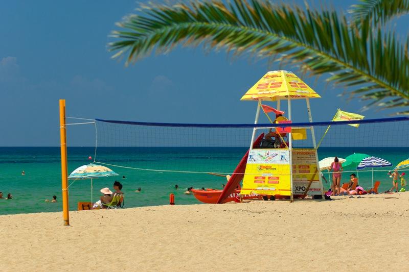 Nea Potidea beach facilities