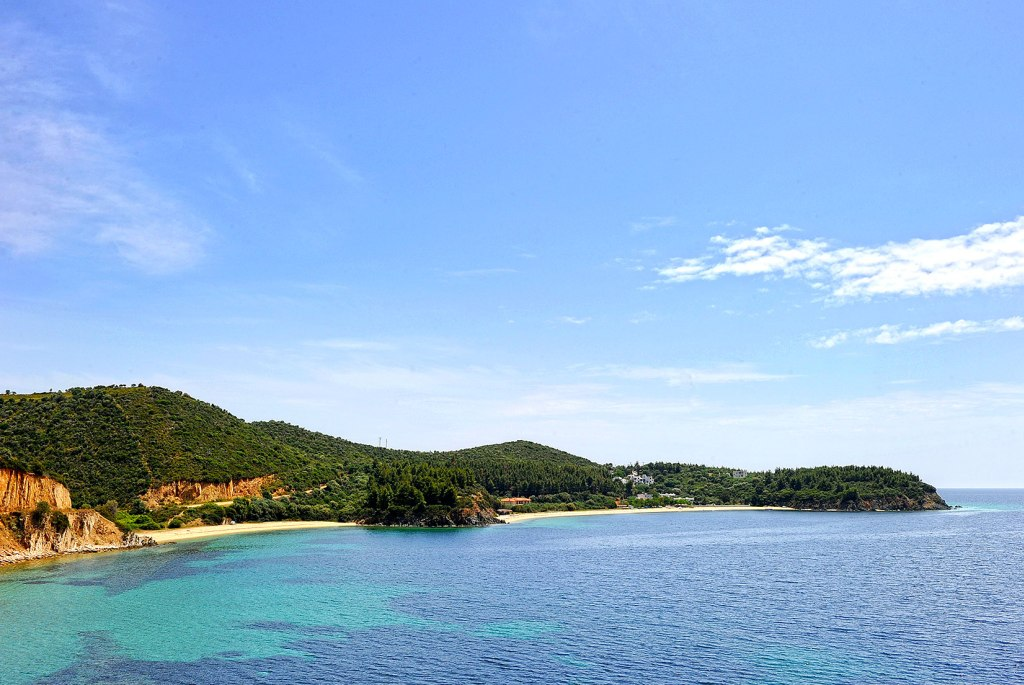 Aretes beach from the sea