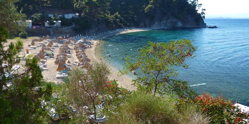 Zografou beach