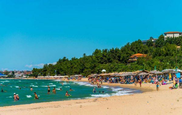 Nea Moudania beach