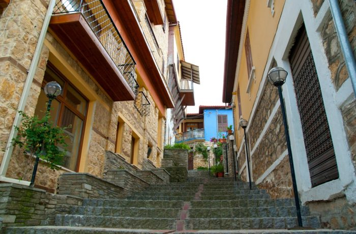 Arnea village