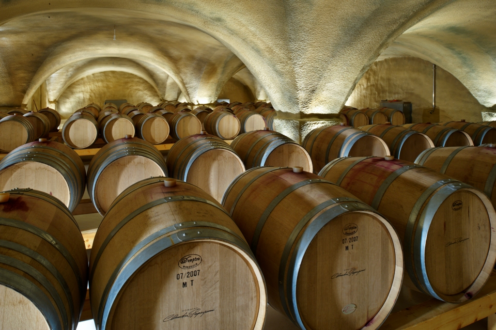 Cellar of Halkidiki's wineries