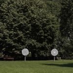 Optical discs at Aristotle's park