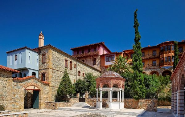 Monasteries outside of Mount Athos