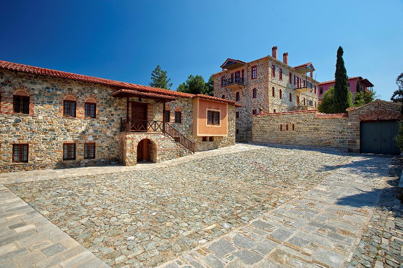 Monastery of the Annunciation of Theotokos in Ormylia-2