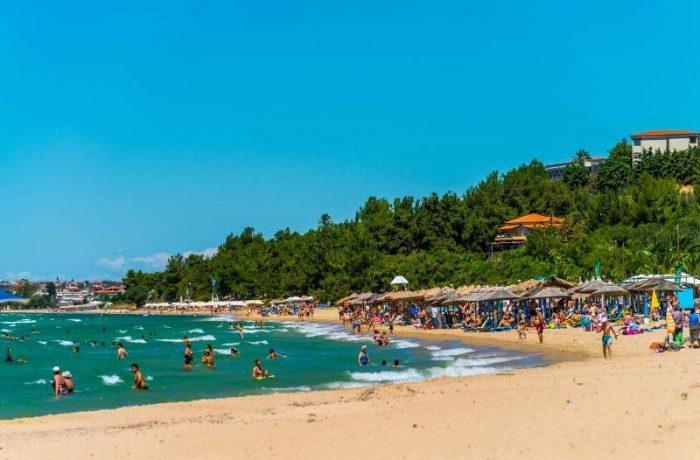 Eleonas beach (Nea Moudania)