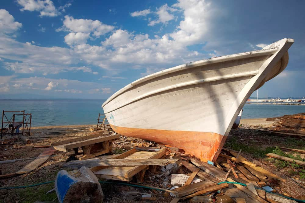 """""""Karnagio"""", the shipyards of Ierissos"""
