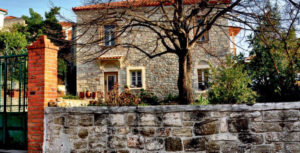 Old house at Kassandria village