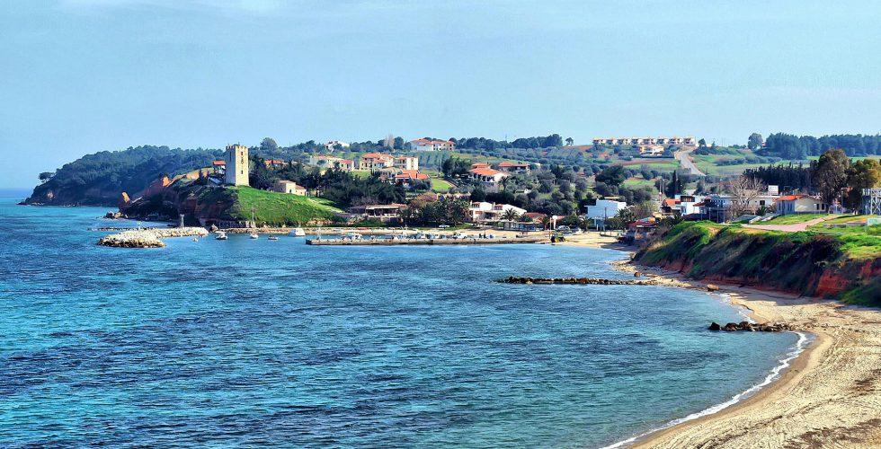 View of Nea Fokea