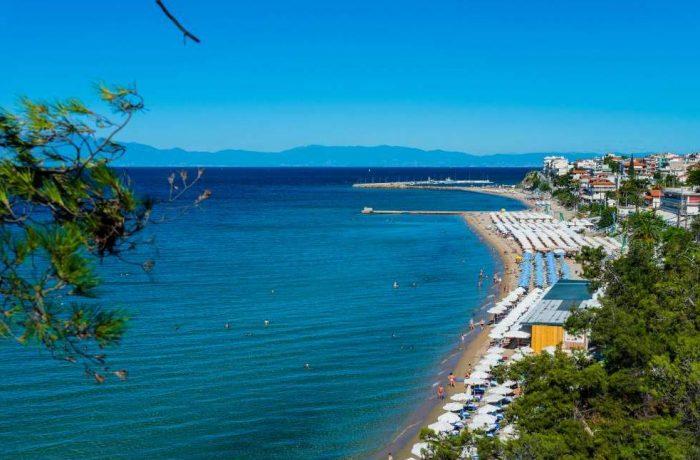 Nea Kallikratia beach