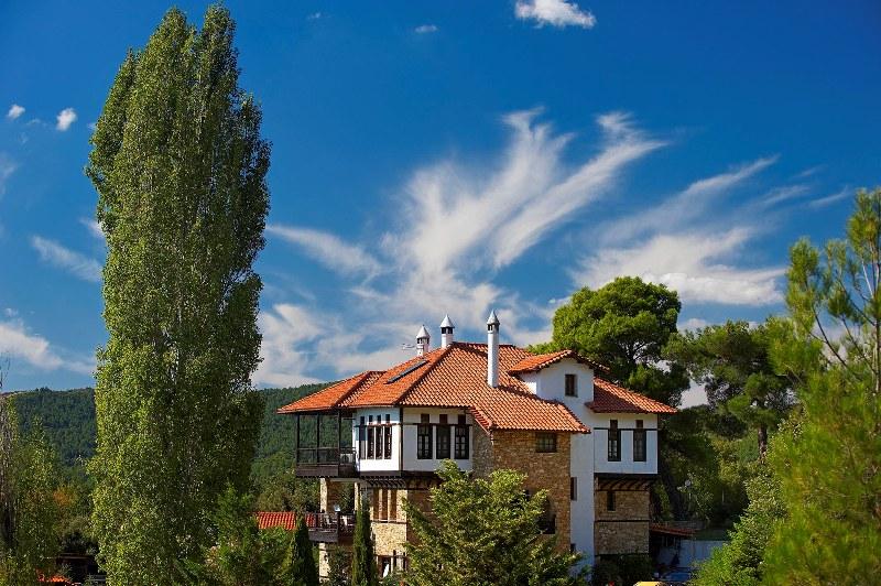 Polygyros town, capital of Halkidiki