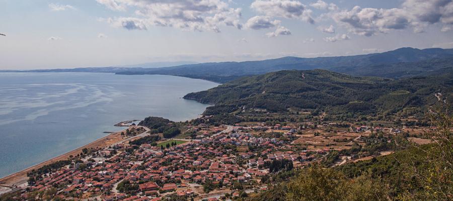 Stratoni village