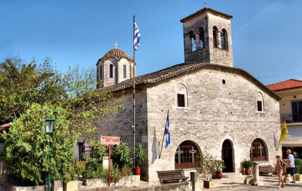 The church of Agios Demetrios