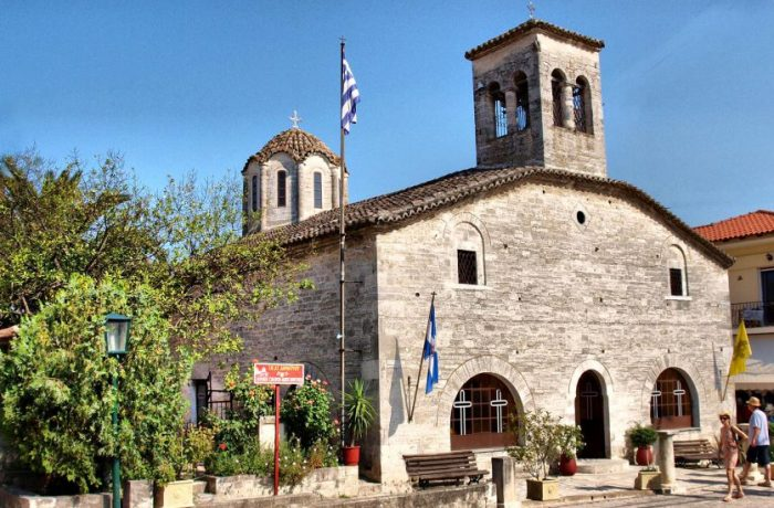 The church of Agios Demetrios