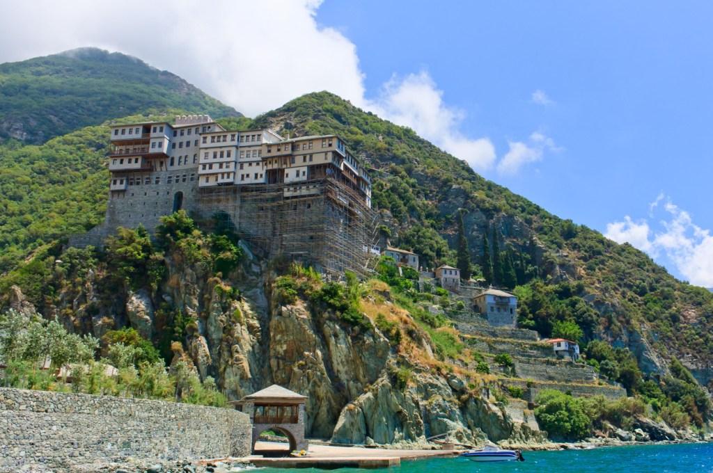 Dionisiou monastery at Mount Athos