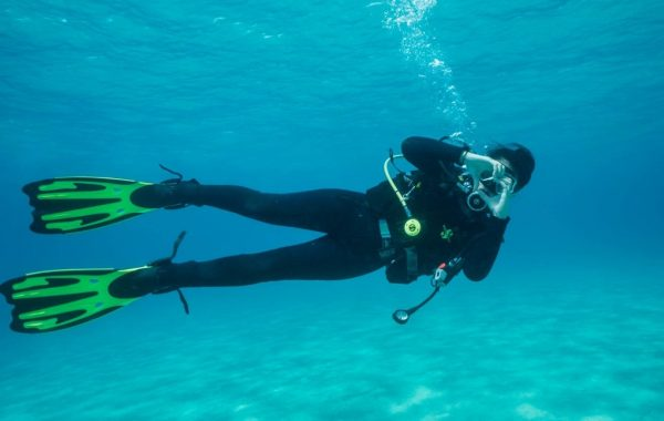 Scuba diving in Halkidiki