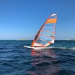 Windsurfing at Vourvourou Bay