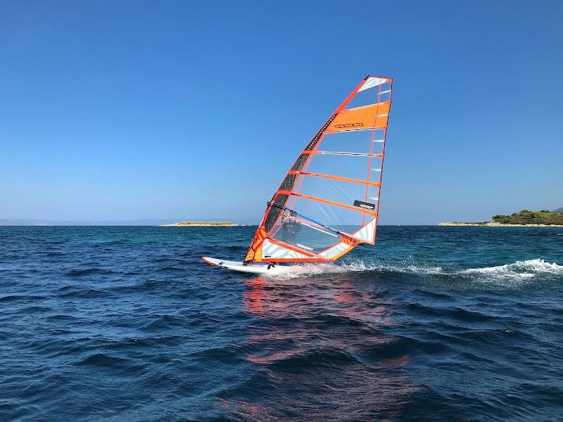 Windsurfing at Vourvourou Bay