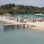 Karagatsia beach at Ammouliani