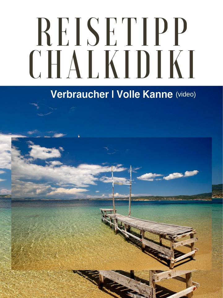 A video about Halkidiki on ZDF channel