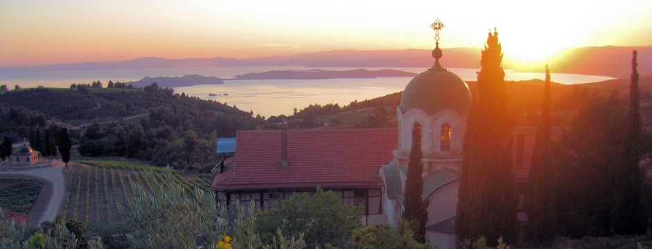 Metohi Chromitsa Winery in Mount Athos
