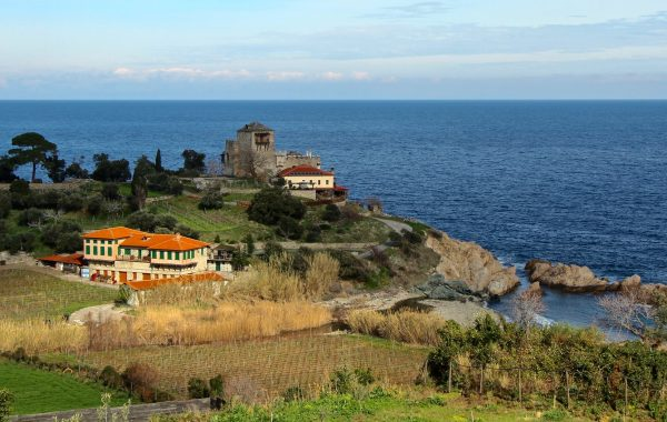 Mylopotamos winery at Mount Athos