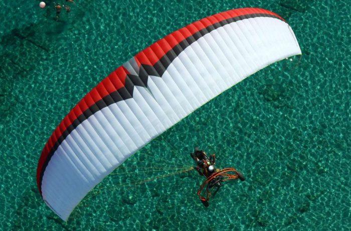 Paragliding in Kassandra