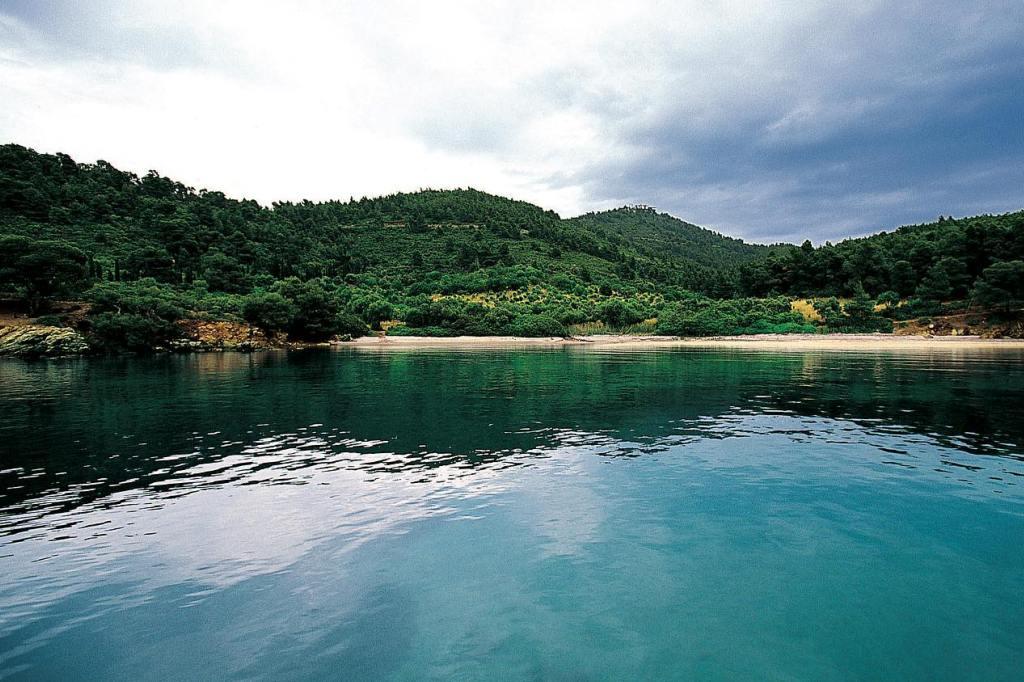 Porto Carras' secluded beach
