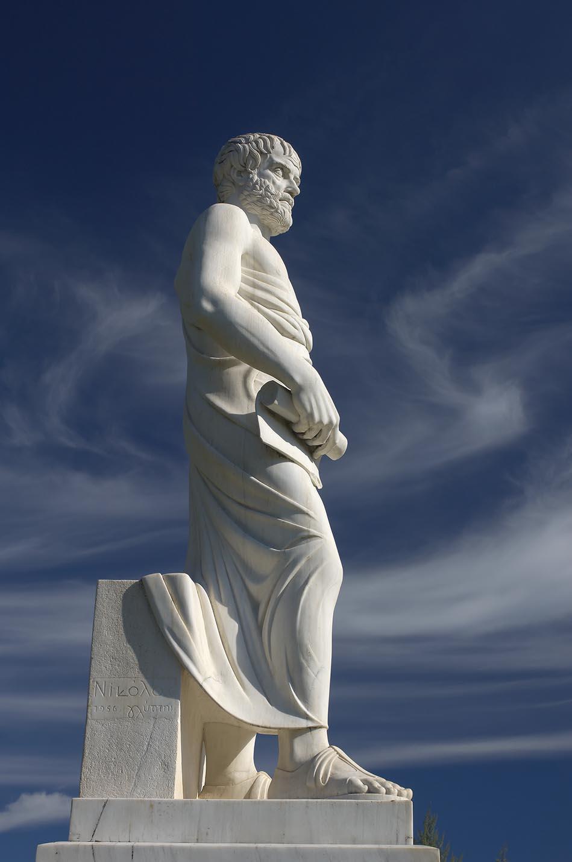 Statue of Aristotle in Halkidiki