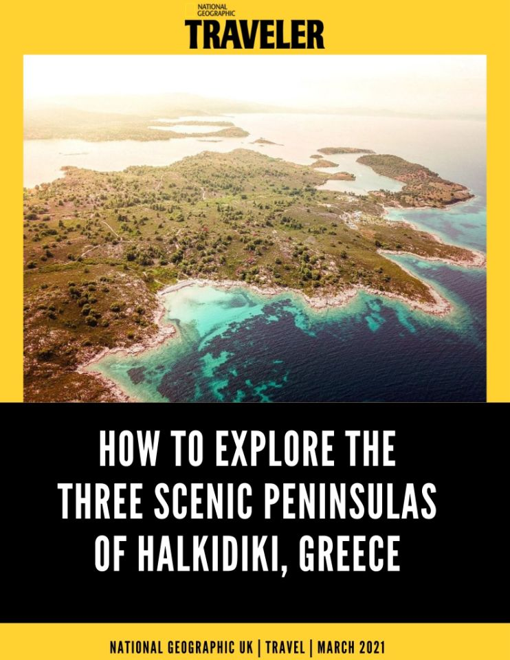 Halkidiki at National Geographic Traveller UK